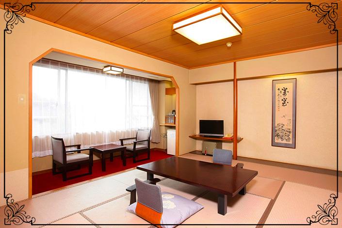 基本・10畳和室 (本館または別館のいずれか、選択不可)